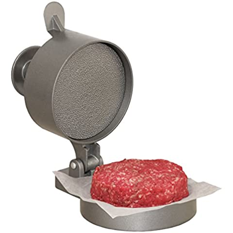 WESTON, Pressa per Hamburger in alluminio Burger-Presse , Grigio (Aluminium)