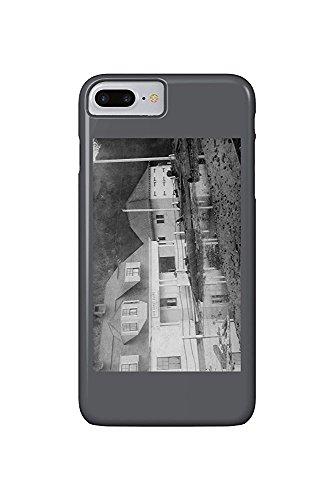 Tillamook Bay, Oregon - Tillamook Bay US Coast Guard Station (iPhone 7 Plus Cell Phone Case, Slim Barely There) Tillamook Bay