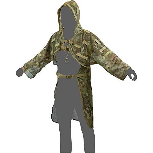 Lightweight Ghillie Suit - Viper Airsoft Concealment Vest Camo Lightweight