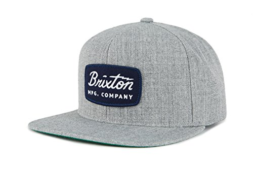 Brixton Headwear JOLT Snapback, Grau Melliert, One Size, 00491 -