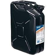 Draper Metal Jerry Can for Petrol or Diesel Fuel Black 20 Litre