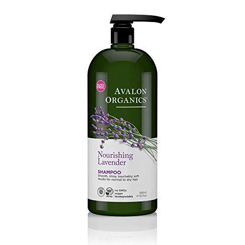 Avalon Organics Shampoo, pflegendem Lavendel, 32Flüssigunze