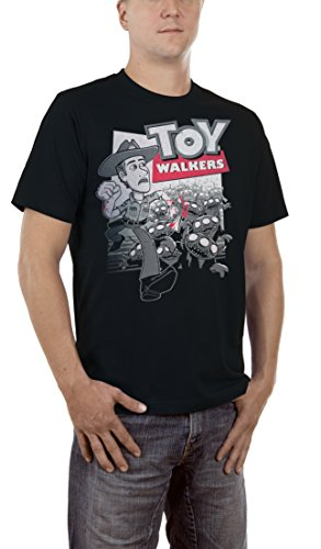 Touchlines Herren T-Shirt Toy Walkers Dead Schwarz (Black 13), XXXXX-Large
