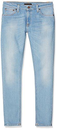 Nudie Jeans Herren / Damen Jeans Bony Lin, Blau (Fresh Breeze), W30/L30 (Herstellergröße: L30W30)