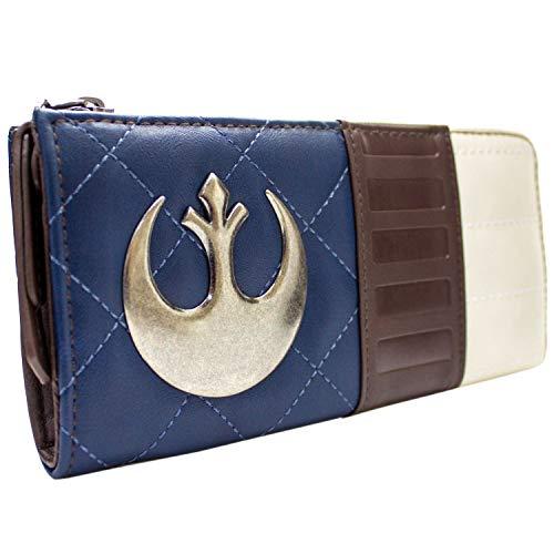 Star Wars Kapitän Han Solo Schurke Blau Portemonnaie Geldbörse