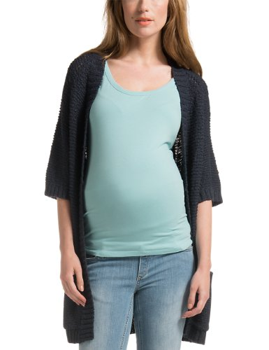 Noppies pullover premaman, manica corta, donna blu (blau (dark blue c165)) m