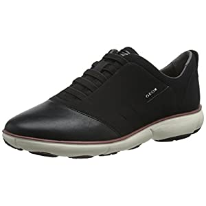 Geox Damen D Nebula G Sneaker, Schwarz (BLACKC9999), 38 EU