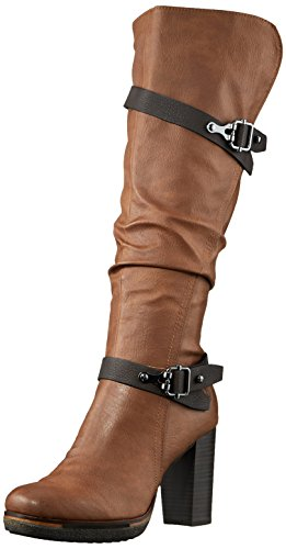 Marco Tozzi Ladies 25608 Boots Brown (cognac Ant.com)