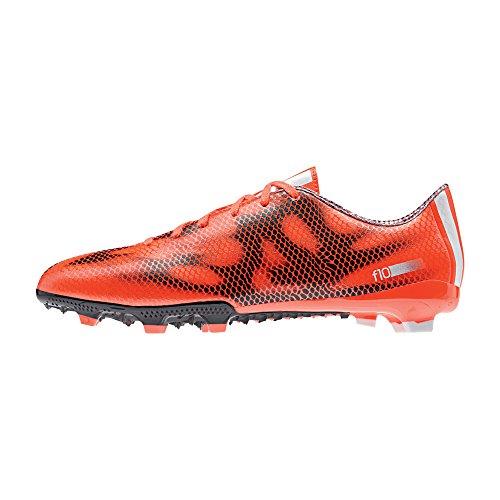 adidas - F10 Firm Ground, Scarpe da calcio da uomo orange - white - black