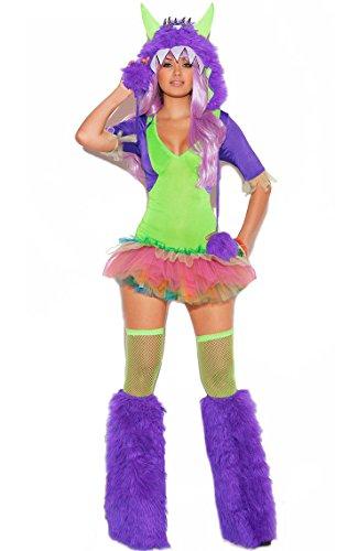 Gogo Monster Kostüm (Kostüm SEXY MONSTER RAVE Gr.)