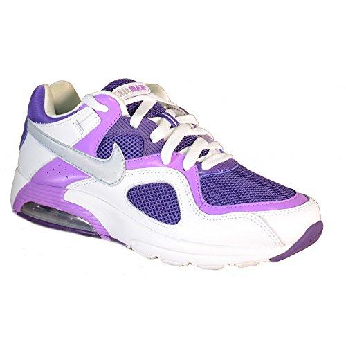 Nike - Nike Air Max Go Strong Scarpe Donna Bianche Viola 432088 Bianco