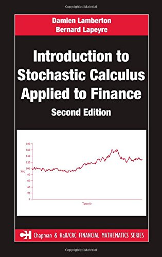 Introduction to Stochastic Calculus Applied to Finance (Chapman & Hall/CRC Financial Mathematics Series)