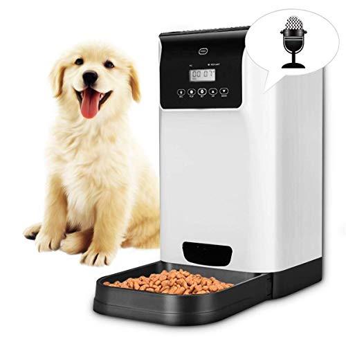 GAL Hohe Qualität 6l pet Feeder Dog automatische Feeder Recorder und Lautsprecher Timing personalisierte 110-240 v stromversorgung