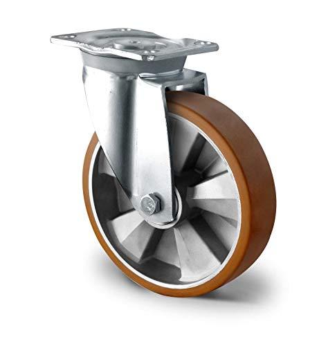 Cuscinetto scorrevole ruote per trasporto ruote asse 150 mm Set di 2 ruote da incasso Cascoo asse elettrico T.P.E