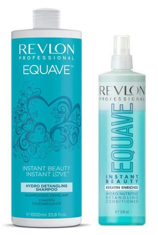 REVLON EQUAVE 2 PHASEN KERATIN CONDITIONER 500ml + REVLON EQUAVE KERATIN SHAMPOO 1000 ml