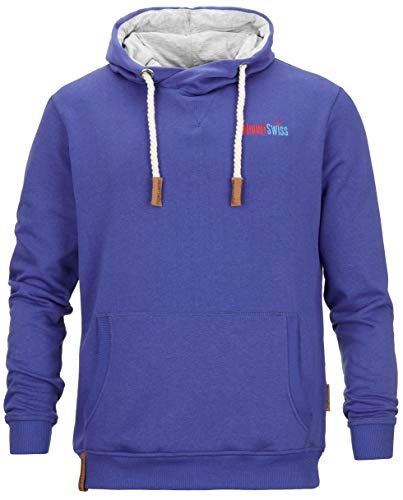 Mount Swiss MS-Matteo, Kapuzenpullover, Navy-Blue, Gr. XL - Navy Blue Hoodie-shirt