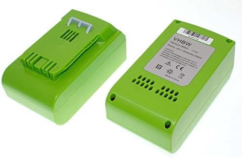 Vhbw 2 x Li-Ion Batteria 5000mAh per utensile utensile utensile elettrico verdeworks 2000007 Tools 24V come 29322, 29807. | Conveniente  | Vari disegni attuali  | Il materiale di altissima qualità  | prendere in considerazione  | Abbiamo ricevuto lodi dai nostri client 048314