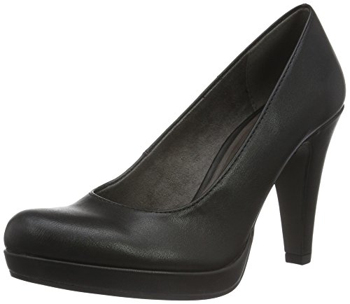 Tamaris Damen 22466 Pumps, Schwarz (Black Matt 020), 41 EU
