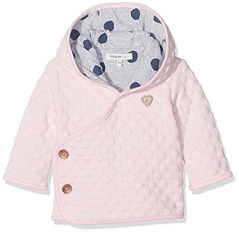 Noppies Baby-Mädchen Strickjacke G Cardigan Sweat Galion Rosa (Light Rose C092), 74