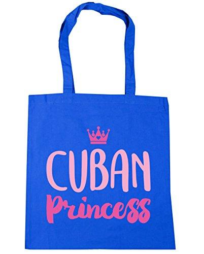 hippowarehouse-cuban-princess-tote-shopping-gym-beach-bag-42cm-x38cm-10-litres