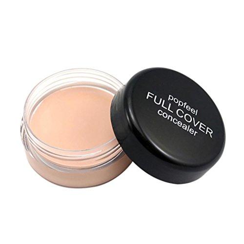 squarex Popfee Gesichts-Make-up Concealer Foundation Palette Creamy Moisturizing 20g, Sonstige, a, AS Show