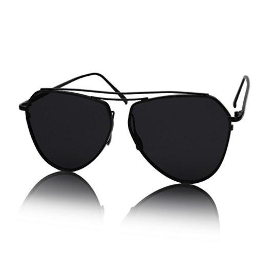 Die Wer Fantastischen Vier (William 337 Brille - Sonnenbrille - Reflektierende Sonnenbrille - Memory-Metall-Objektiv - Personalisierte Aviator-Sonnenbrille ( Farbe : #4 ))