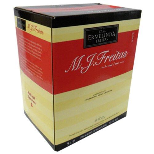 M.J. Freitas Vinho de Mesa Rosé, 5 Liter (Rosé aus Portugal, Vinho de Mesa) Castelao Frances (Frances Intensif)