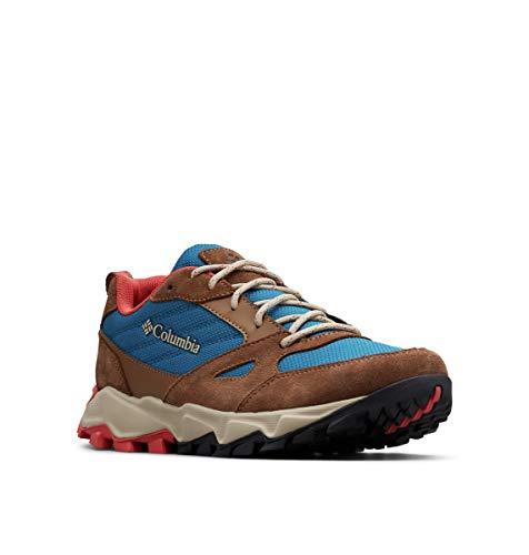 Columbia Ivo Trail, Zapatillas de Senderismo para Mujer, Multicolor Lagoon, Coral 457, 38 EU