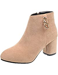 Amazon.fr   Fermeture Eclair Metal - Bottes et bottines   Chaussures ... 98cd9fce4193