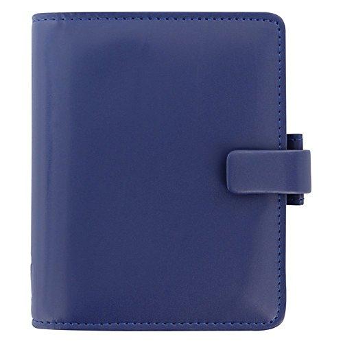 Filofax Metropol Navy Blau Pocket Organiser 19mm VL A7 Terminplaner Agenda 026909 (Metropol Filofax Personal)