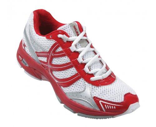 Gilbert Flash Netzball Schuhe weiß / rot