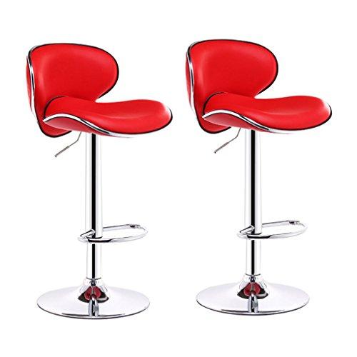 Xueping sgabello da bar/sedia poltroncina rotazione di 360 gradi sollevamento sedia da ufficio cucina ristorante sgabello da bar/sedia schienale alto curvo singolo/doppio sedia di bellezza 6 colori