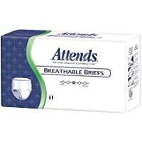 Attends? Incontinent Brief Tab Closure Disposable Heavy Absorbency White Medium 32-44 Inch Waist/Hip CS/96 by... preisvergleich bei billige-tabletten.eu