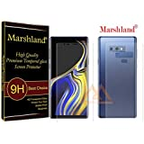 Marshland Screen Guard Front & Back Anti Scratch Bubble Free Screen Protector Screen Guard for Samsung Galaxy Note 9 (Transparent, XV-N7OJ-ENLM)