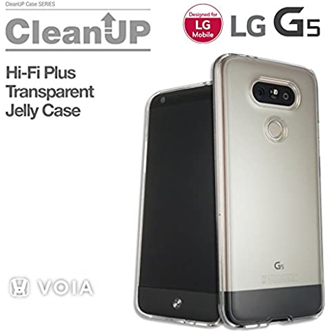 Voia G5 Clean Up Transparent Jelly Case Funda For LG Hi-Fi Plus with B&O PLAY - LG OEM