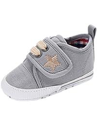 3dcb6b55c6be Auxma Chaussures de bébé, Chaussures de toile de bébé de filles de garçons  enfant Sneaker
