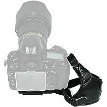 Foto & Tech Profesional 100% Piel auténtica correa de muñeca de mano para Canon Nikon Sony Pentax Olympus Panasonic Fujifilm Sigma DSLR/SLR/Evil cámara