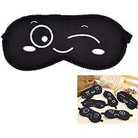 Daxey - Black Mask Bandage Auf Augen 1pcs Schlafaugenmaske Schwarz Augen Shade Schlafmaske Reisen Schlaf Werkzeuge... preisvergleich bei billige-tabletten.eu