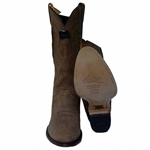 Rancho - Botte Cowboy Western 2058 nubuk pathe