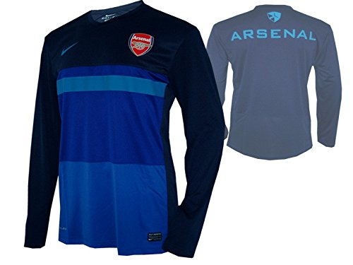 Nike Arsenal London Training Top AFC Jersey Trikot blau -