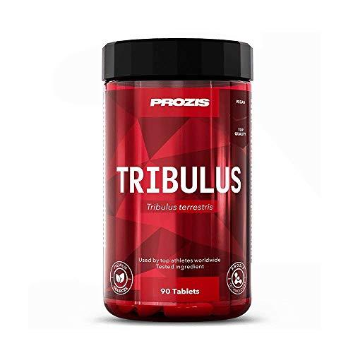 Prozis Tribulus Terrestris 1000mg 90 tabs - Steigert Libido & Ausdauer - Stärkt Muskelwachstum und sexuelle Leistung - 90 Tabletten