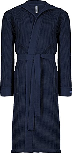 Taubert Kimono mit Kapuze Länge 120cm Navy