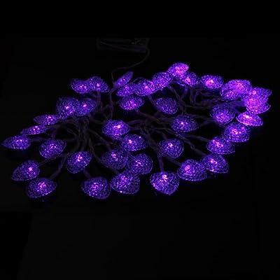InnooTech LED Weihnachtsbeleuchtung Lichterkette Herzen Innen Batteriebetrieben Pary Weihnachtsbaum Valentinstag Weihnachten Fest Geburtstag 4 Meter 40er Purpur von Innoo Tech - Lampenhans.de