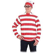 Disfraz Wally, camiseta y gorro - Único, XL