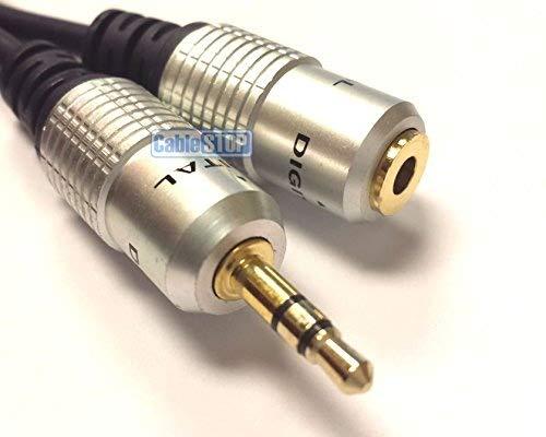 PRO Mini Jack stéréo 3,5mm casque audio Extension Aux Câble audio Câble 0,5m 1m 2m 3m 5m 10m
