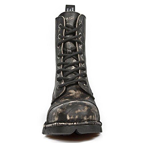 New Rock Herren M Newmili083 S6 Stiefel Black, Grey