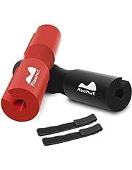 REEHUT Barbell Squat Pad - Almohadilla de protección ergonómica Avanzada para Cuello y Hombros para Sentadillas, Sentadillas y Empuje de Cadera