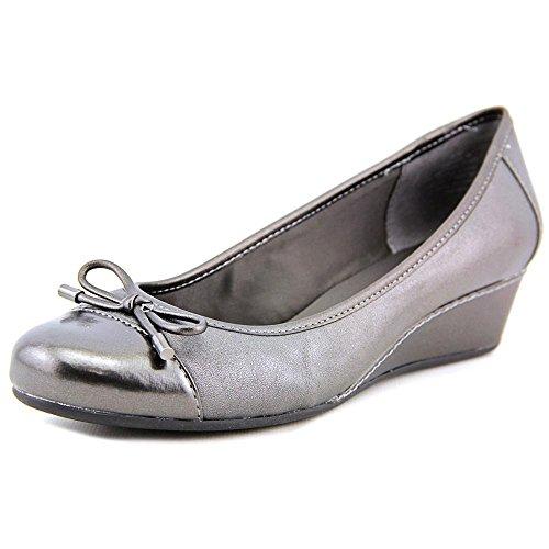 easy-spirit-davalyn-women-us-11-silver-wedge-heel