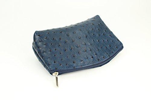 71b1049a503ec ... BELLI Bellini kleine Leder Kosmetiktasche Make Up Tasche - Farbauswahl  - 18x13x5 cm (B x ...
