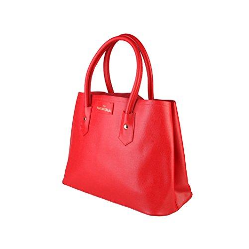 Made in Italia Bags, Borsa a spalla donna rosso ro...